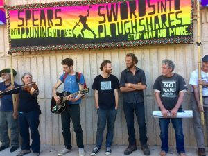 PineGapPilgrims return to Alice #ClosePineGap