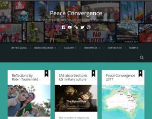 Peace Convergence Website