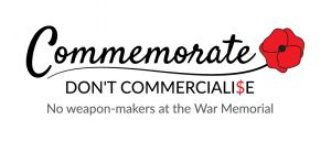 Commemorate, don't commercialise graphic