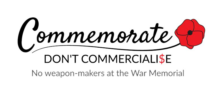 Commemorate Don't Commercialise