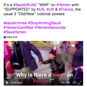 Video on Twitter: Why is their a siege on Yemen?