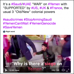 Video on Twitter: Why is there a siege on Yemen?