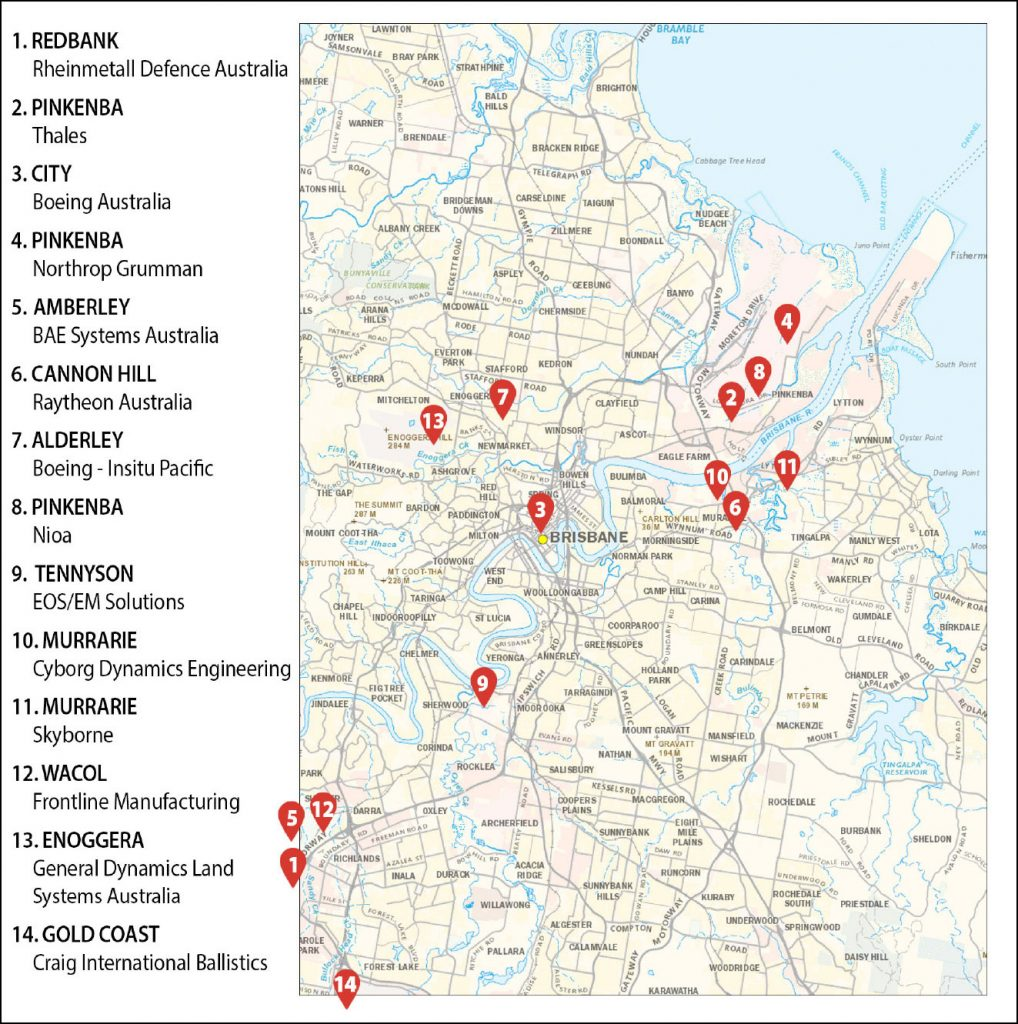 Weapons companies Brisbane