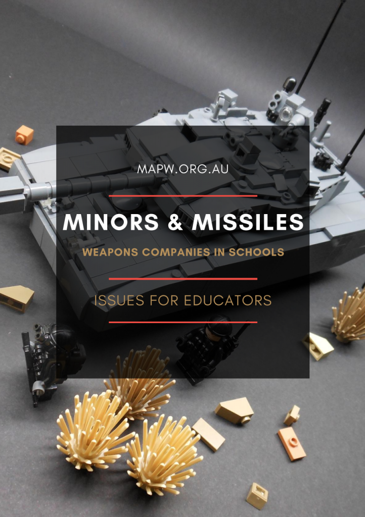 Minors & Missiles - Weapons Companies in Schools by MAPW