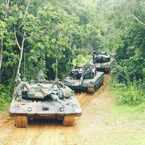 Leopard 2A4 Tanks