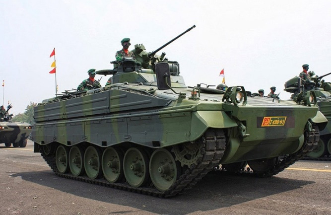 Marder 1A3 Tanks