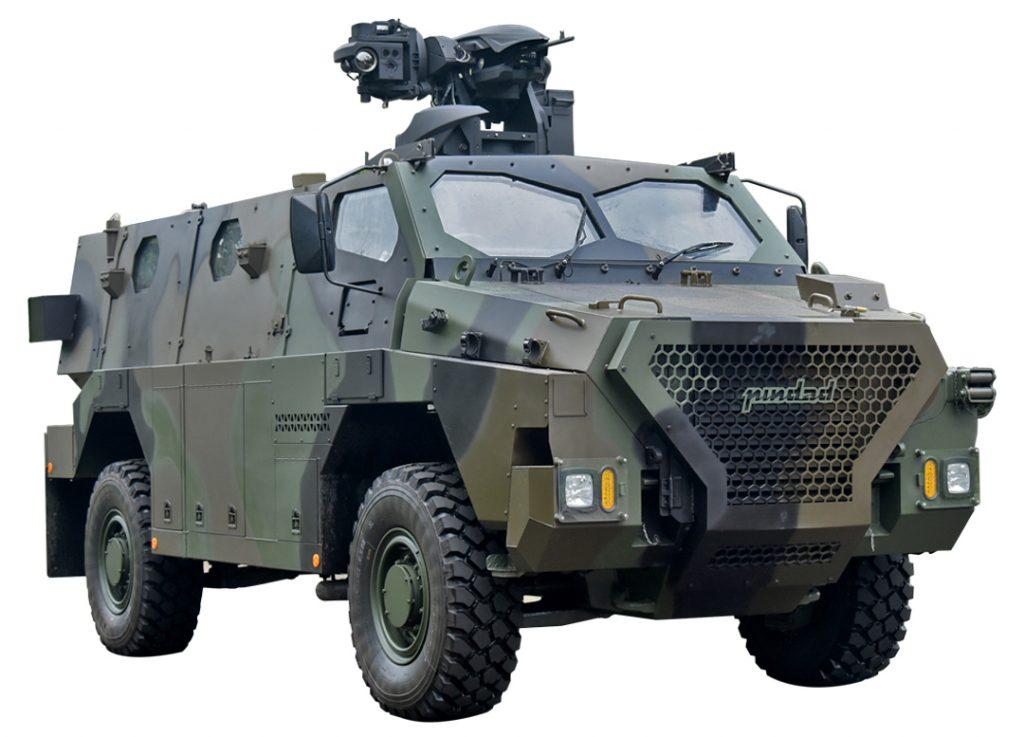 Pindad Sanca MRAP with Rheinmetall Qimek RCWS [Source: Wikipedia]
