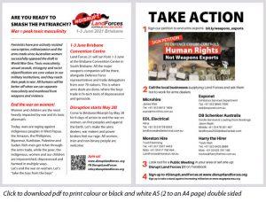Download Landforces Take Action flyer
