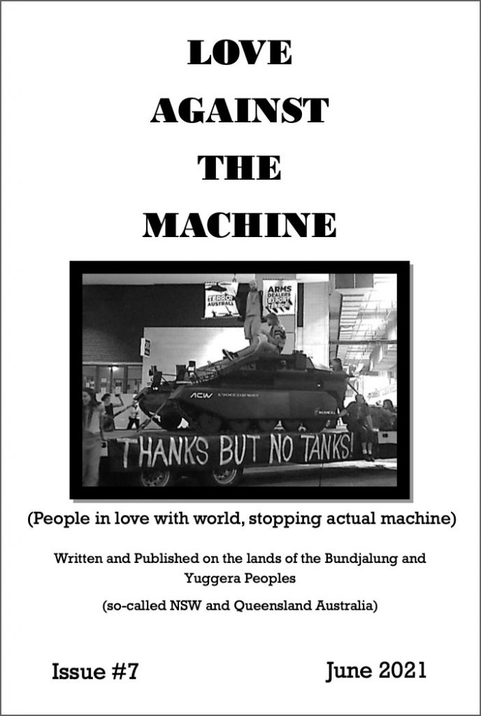 Love against the machine - click to view as pdf