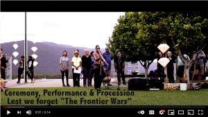 VIDEO: Frontier Wars Ceremony 2016
